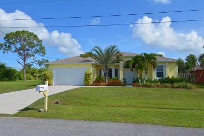 Port Saint Lucie, Saint Lucie West Single Family Home For Sale: 871 SW Jaslo Avenue