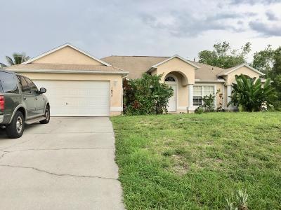 Port Saint Lucie, Saint Lucie West Single Family Home For Sale: 1072 SW Locke Avenue