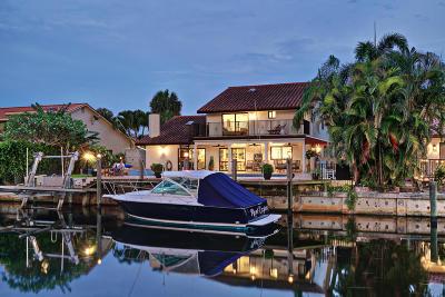 Boca Raton FL Single Family Home For Sale: $1,350,000