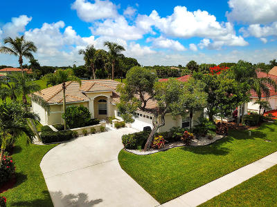 Lake Worth Single Family Home For Sale: 6054 Las Colinas Circle