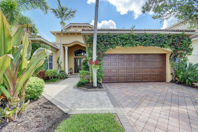 Palm Beach Gardens Single Family Home For Sale: 142 Monte Carlo Drive