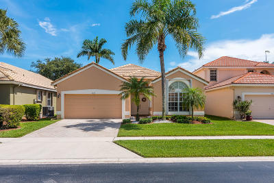 Delray Beach Single Family Home For Sale: 7694 Monarch Court