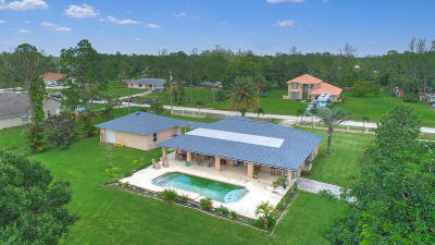 Loxahatchee Single Family Home For Sale: 17329 43rd Road