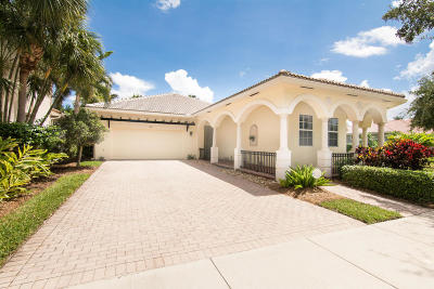 Jupiter Single Family Home For Sale: 122 Via Santa Cruz