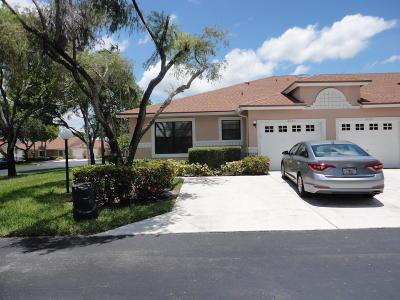 Boca Raton Single Family Home Contingent: 8395 Sunmeadow Lane #A