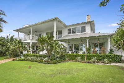 West Palm Beach Single Family Home For Sale: 4720 Flagler Drive