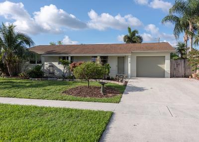 Lake Worth Single Family Home For Sale: 4198 Kent Avenue