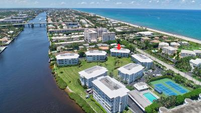 Delray Beach Condo For Sale: 2150 S Ocean Boulevard #3-F