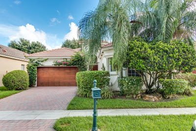 Delray Beach Single Family Home For Sale: 5738 Via De La Plata Circle