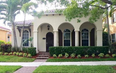Jupiter Single Family Home For Sale: 107 Bilboa Drive