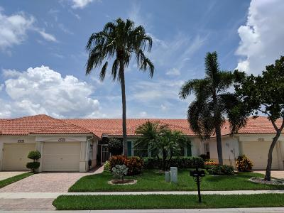 Delray Beach Single Family Home For Sale: 15435 Watershore Lane