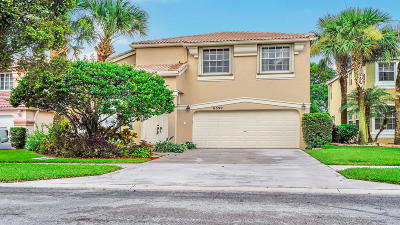 Lake Worth Single Family Home For Sale: 6399 Branchwood Drive