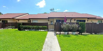 West Palm Beach Single Family Home For Sale: 1030 Green Pine Boulevard #G