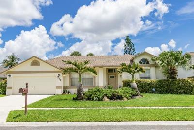 Lake Worth Single Family Home For Sale: 3699 Woods Walk Boulevard