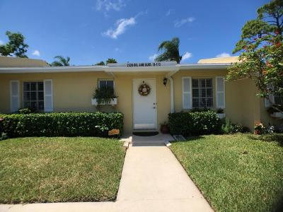 Delray Beach Single Family Home For Sale: 2320 Del Aire Boulevard #113-B