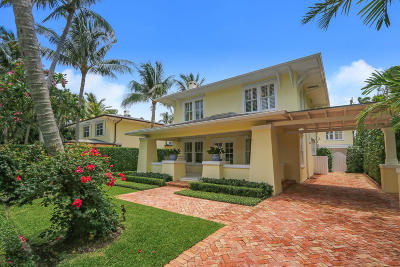 Palm Beach FL Single Family Home For Sale: $3,999,000
