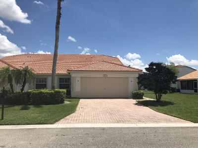 Delray Beach Single Family Home For Sale: 6132 Caladium Road