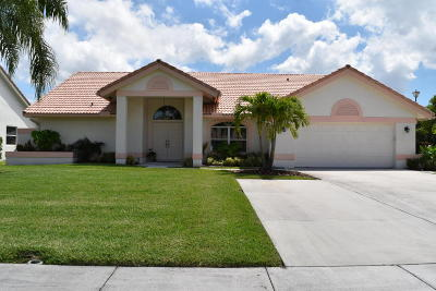 Lake Worth Single Family Home For Sale: 7142 Golden View Place