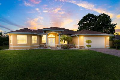 Fort Pierce Single Family Home For Sale: 9409 Orange Avenue
