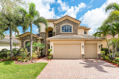 West Palm Beach Single Family Home For Sale: 628 Edgebrook Lane