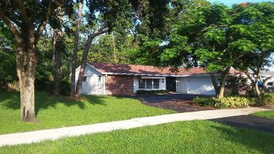 Lake Worth Single Family Home For Sale: 307 Ohio Road