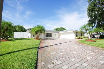 Palm Beach Single Family Home For Sale: 4074 Ilex Circle