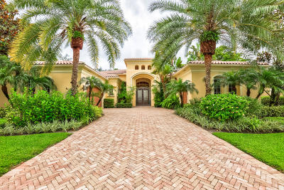 Palm Beach Gardens FL Single Family Home For Sale: $1,725,000