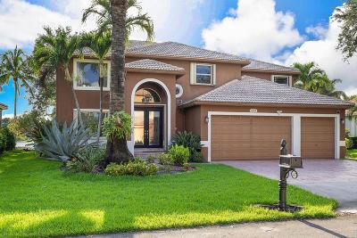 Coconut Creek Single Family Home For Sale: 6415 Mallards Way