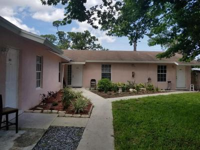 West Palm Beach Multi Family Home For Sale: 5893 Mango Road
