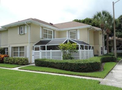 Boynton Beach Townhouse For Sale: 3302 Hayden Court