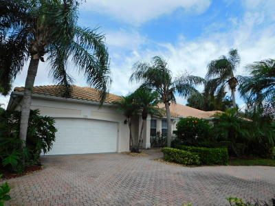 Jupiter Single Family Home For Sale: 124 Golf Village Boulevard