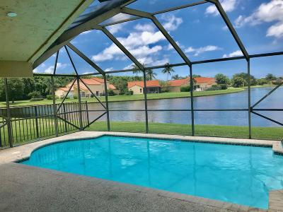 Boca Raton Single Family Home For Sale: 19910 Stockholm Drive