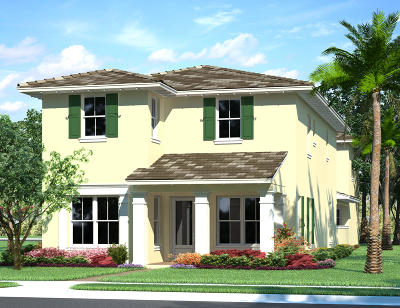 Palm Beach Gardens FL Single Family Home For Sale: $757,151