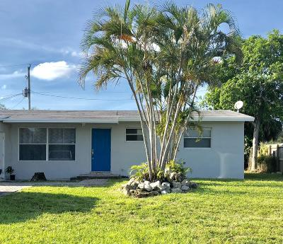 West Palm Beach Single Family Home For Sale: 5554 Balfrey Drive