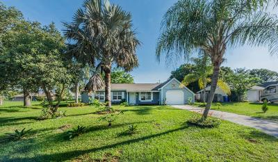 Vero Beach Single Family Home Contingent: 604 24th Place SW