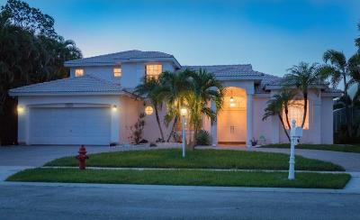 Boca Raton Single Family Home For Sale: 9360 Vedra Pointe Lane