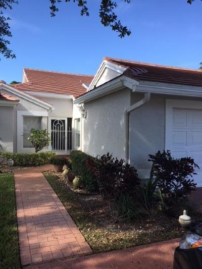 Boynton Beach Single Family Home For Sale: 6190 Brightwater Terrace