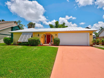 Palm Beach Gardens FL Single Family Home For Sale: $372,000