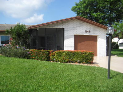 Delray Beach Single Family Home For Sale: 6148 Overland Place
