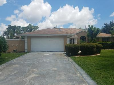 Port Saint Lucie, Saint Lucie West Single Family Home For Sale: 1849 SW Kimberly Avenue