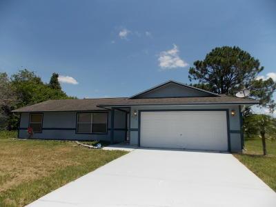 Port Saint Lucie Single Family Home For Sale: 873 SW Nichols Terrace