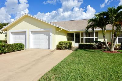 Hobe Sound Single Family Home For Sale: 10808 SE SEa Pines Circle