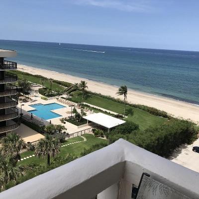 Palm Beach Condo For Sale: 3450 S Ocean Boulevard #802