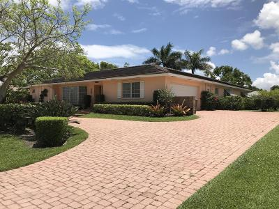 Palm Beach Single Family Home For Sale: 3688 Cypress Street