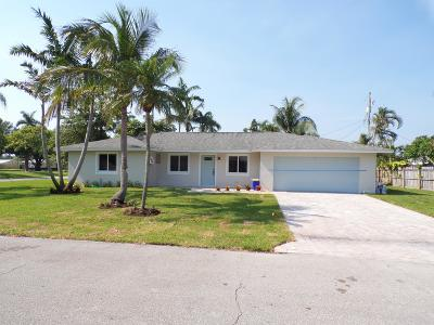 Tequesta Single Family Home For Sale: 565 Dover Road