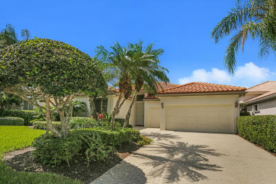 Palm Beach Gardens FL Single Family Home For Sale: $610,000