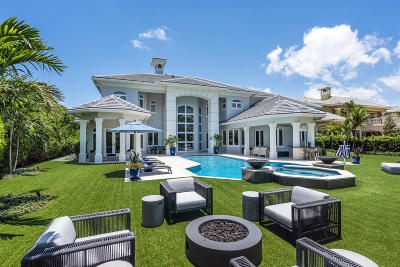 Boca Raton Single Family Home For Sale: 311 Fan Palm Road