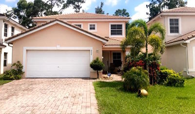 West Palm Beach Single Family Home For Sale: 6024 Adriatic Way