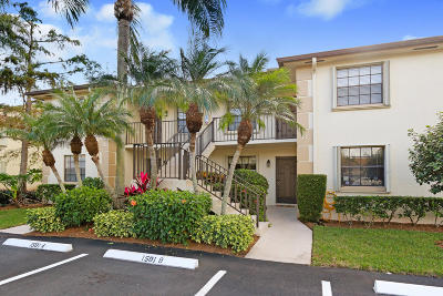 Jupiter Condo For Sale: 1502 Pinecrest Circle #B