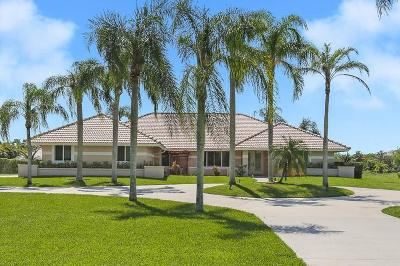 Lake Worth Single Family Home For Sale: 6850 W Kendale Circle